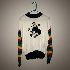 F21 Disney sweater